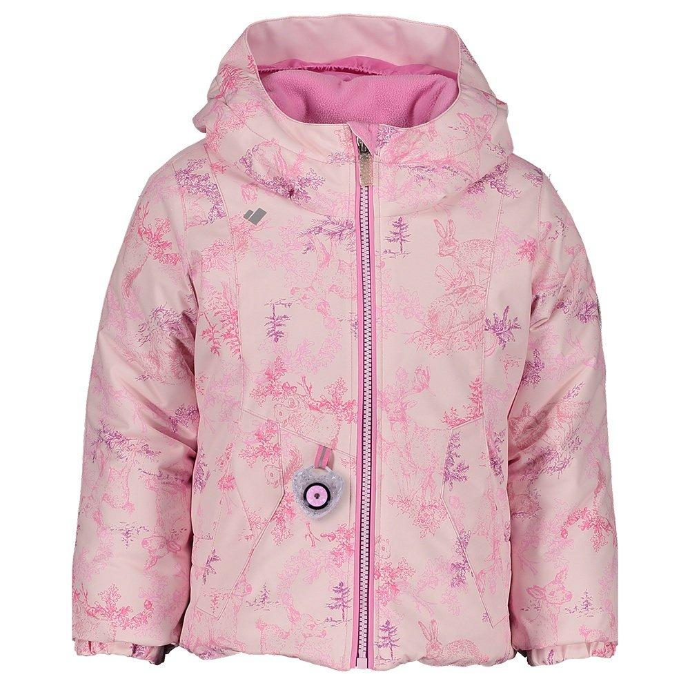 Obermeyer Iris Insulated Ski Jacket (Little Girls') - Pink Pals