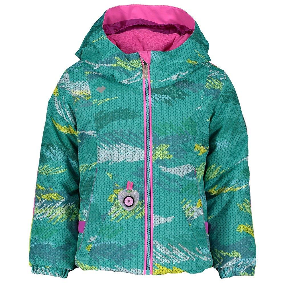 Obermeyer Iris Insulated Ski Jacket (Little Girls') - Scribble Knit
