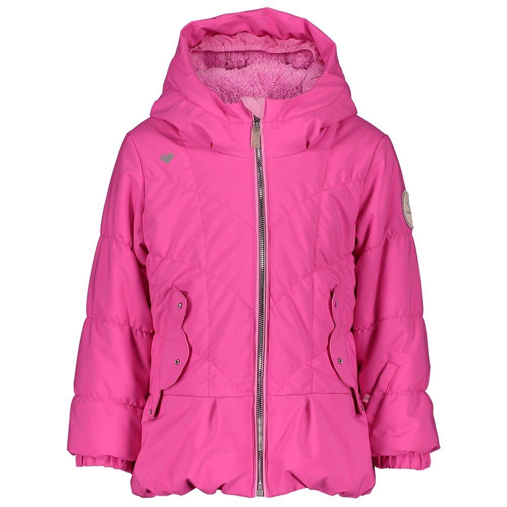 Obermeyer Margot SC Insulated Ski Jacket (Little Girls') - Pink PWR
