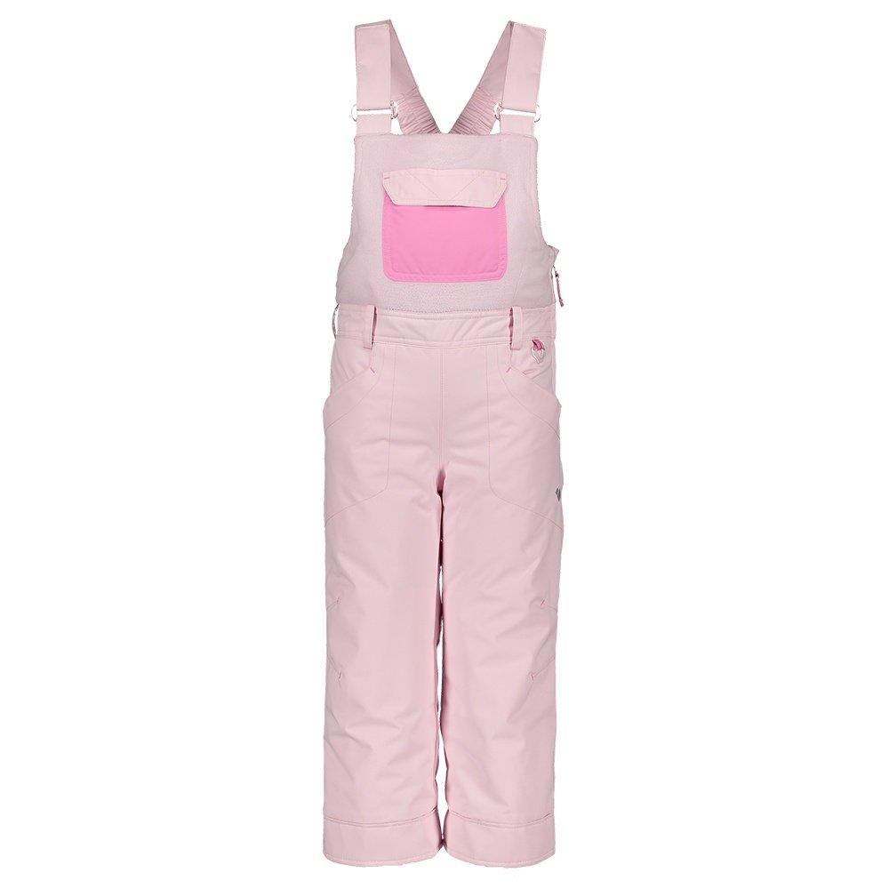 Obermeyer Disco Insulated Ski Bib (Little Girls') - Puff Pink