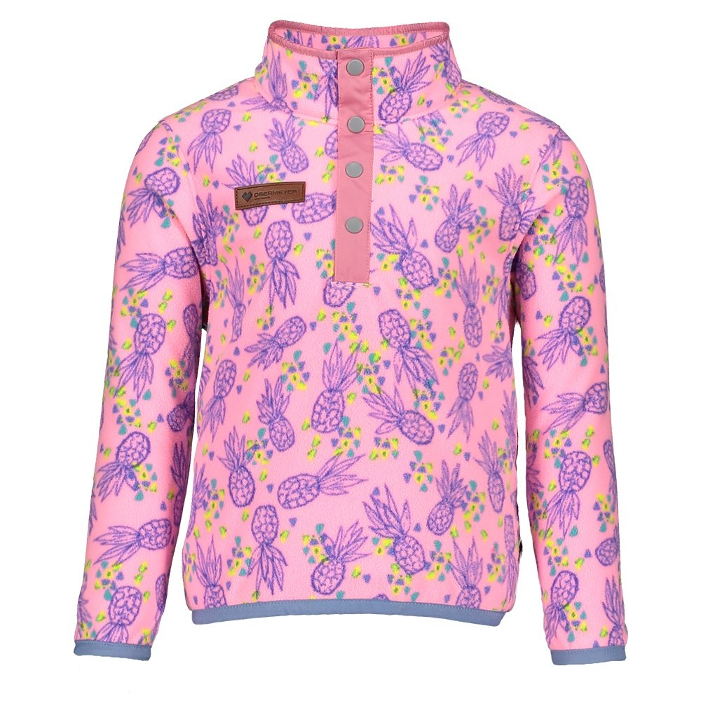 Obermeyer Boulder Fleece Mid-Layer (Little Kids') - Pink Pineapple