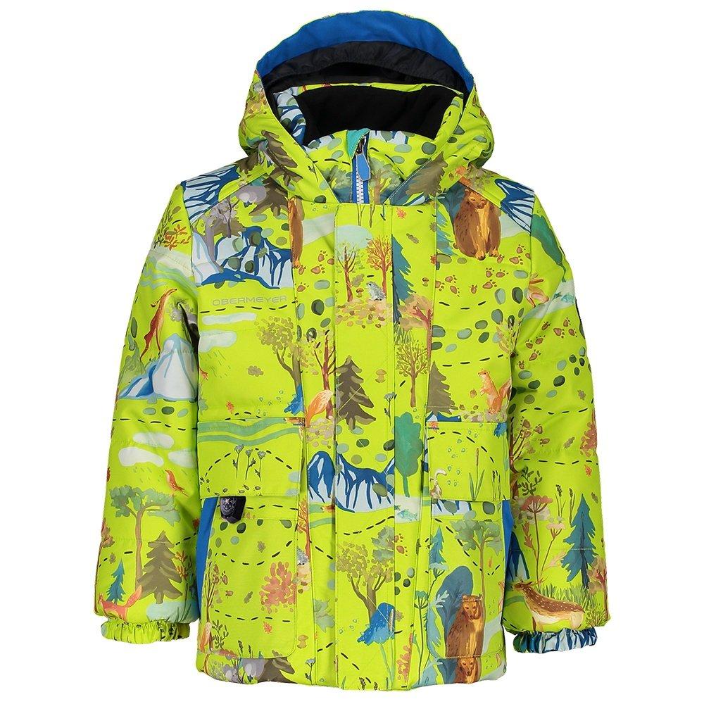 Obermeyer M-Way Insulated Ski Jacket (Little Boys') - Forest Life