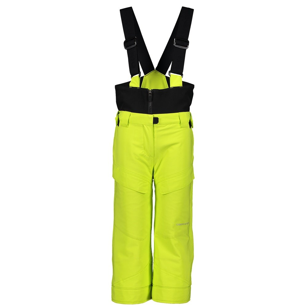 Obermeyer Warp Insulated Ski Pant (Little Boys') - Limelight