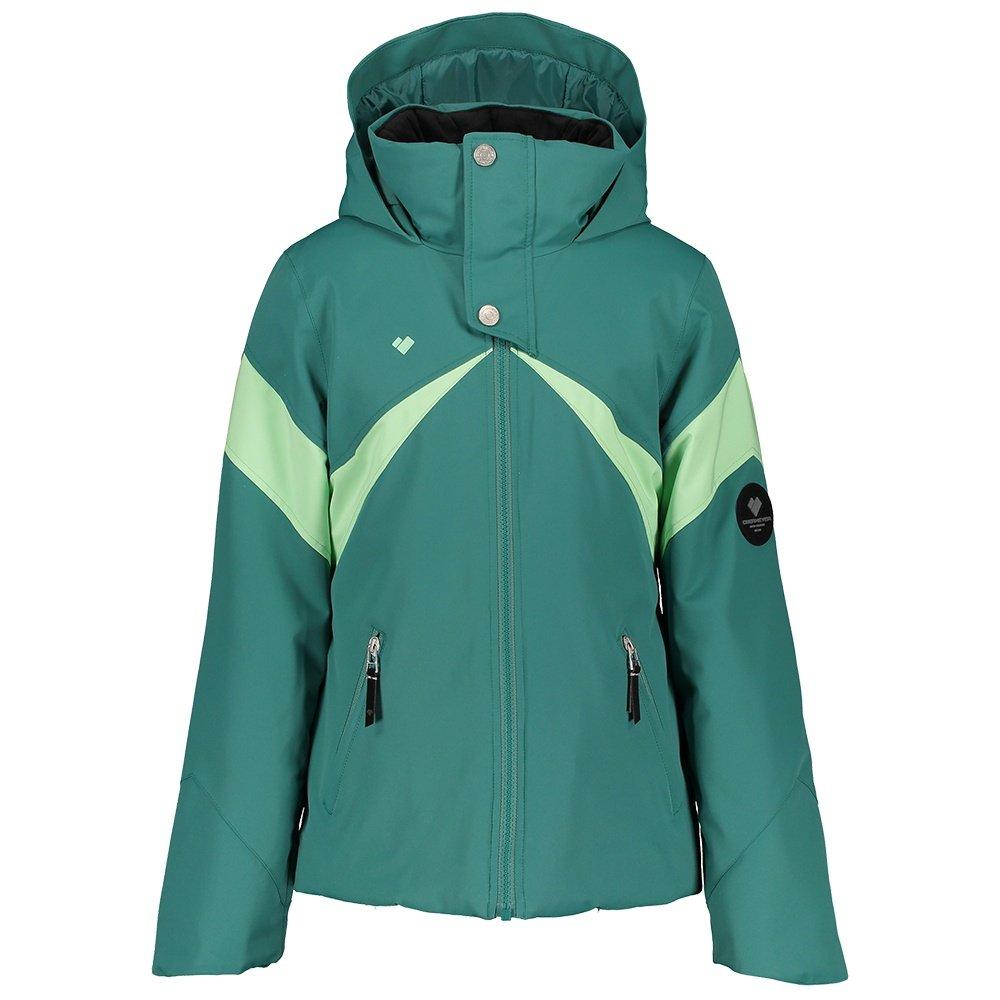 Obermeyer Tabor Insulated Ski Jacket (Girls') - Aquarius