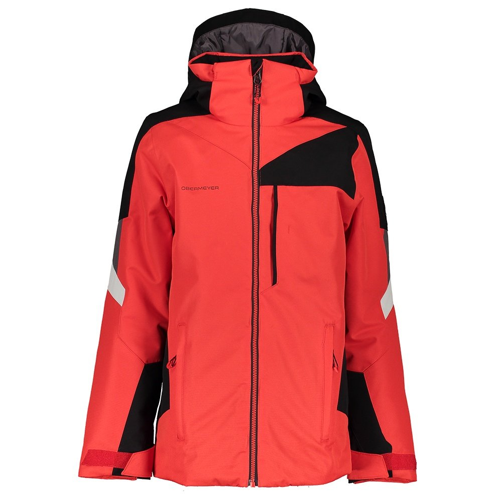 Obermeyer Fleet Insulated Ski Jacket (Boys') - Red