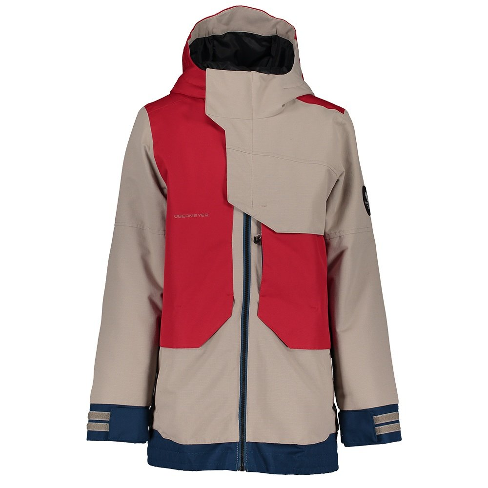 Obermeyer Gage Insulated Ski Jacket (Boys') - Rival Red