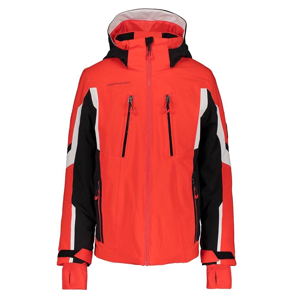Obermeyer Mach 11 Insulated Ski Jacket (Boys') - Red
