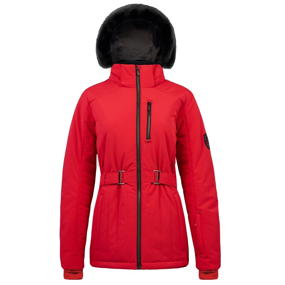 Boulder Gear Regal Belted Insulated Ski Jacket (Women's) - Crimson Red