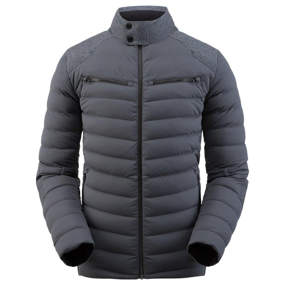 Spyder Alpine Stretch Down Ski Jacket (Men's) - Ebony