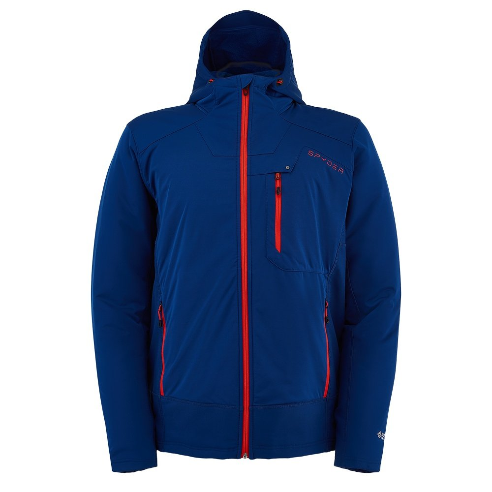 Spyder Ascender GORE-TEX Infinium Hoodie Fleece Jacket (Men's) - Abyss