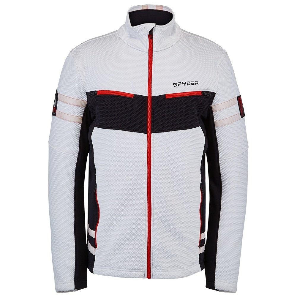Spyder Wengen Encore Full Zip Fleece Jacket (Men's) - White