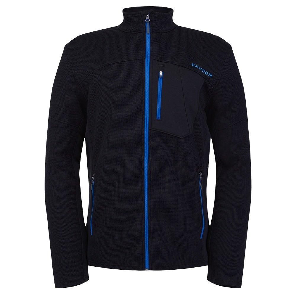Spyder Bandit Full-Zip Fleece Jacket (Men's) - Black/Old Glory