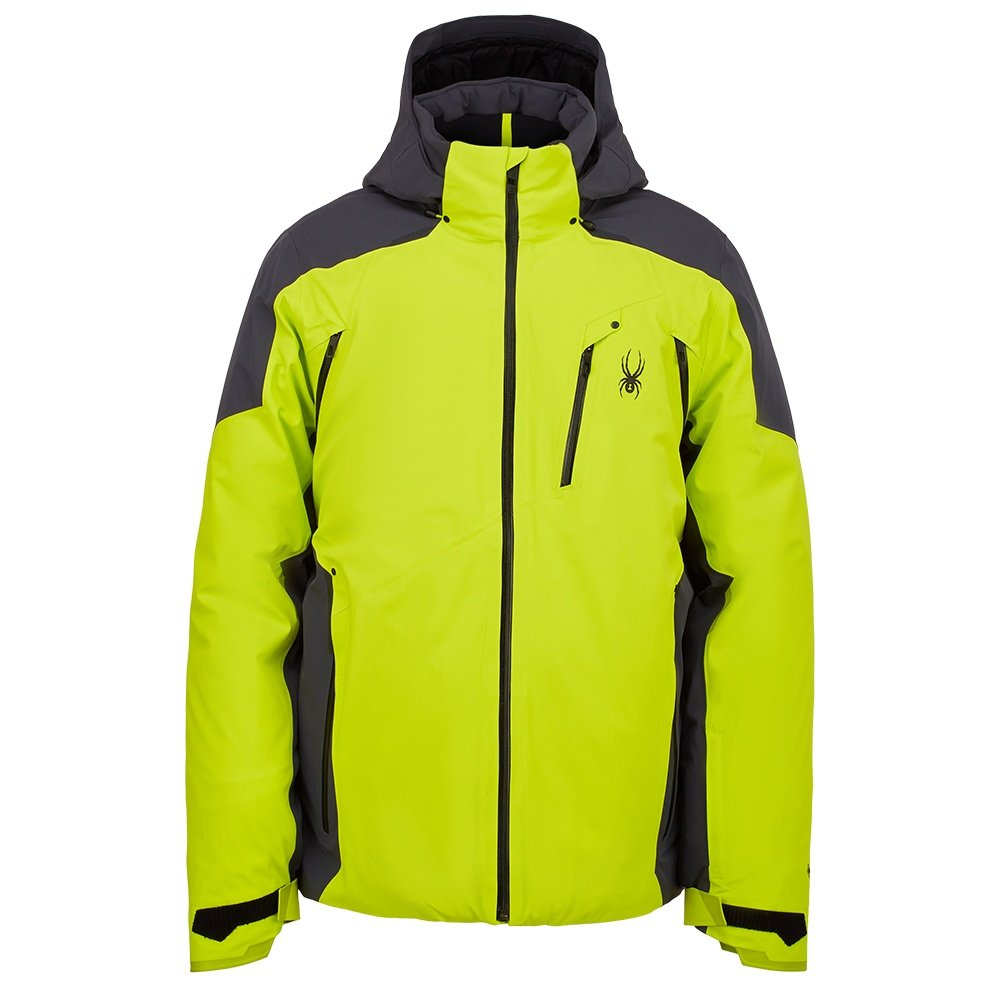 Spyder Vanqysh GORE-TEX Insulated Ski Jacket (Men's) - Sharp Lime