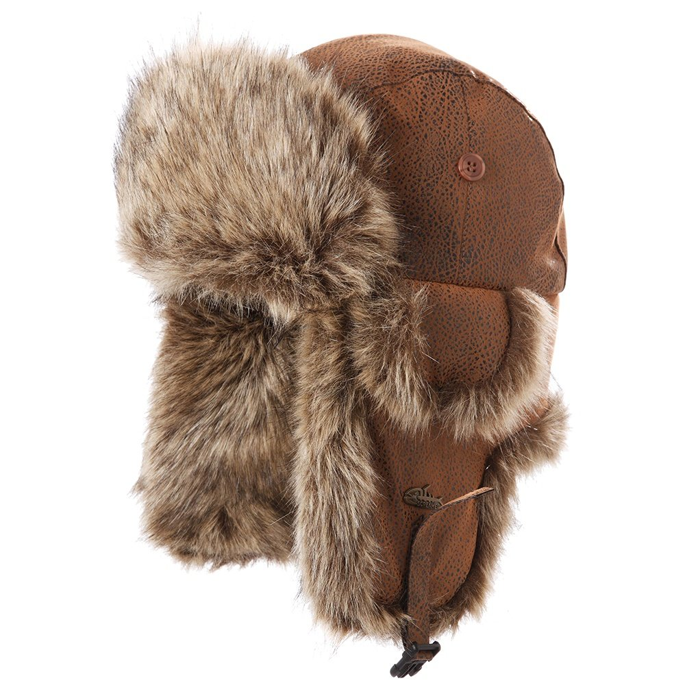 Screamer Hats Cornell Trapper Hat (Adults') - Copper