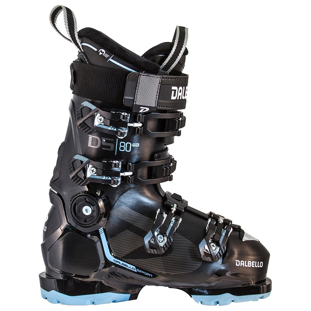 Dalbello DS AX 80 Ski Boot (Women's) - Black/Pastel Blue