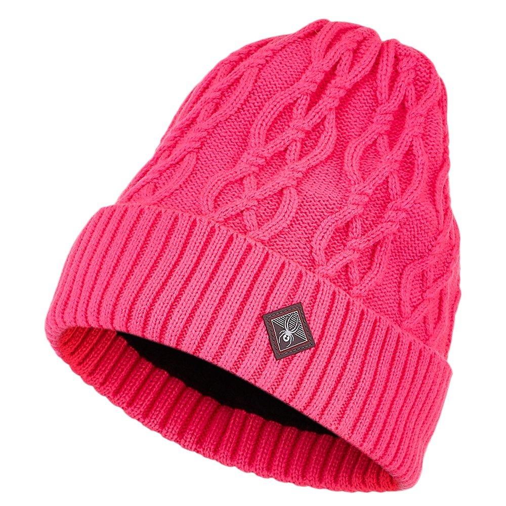 Spyder Cable Knit Hat (Women's) - Bryte Bubblegum