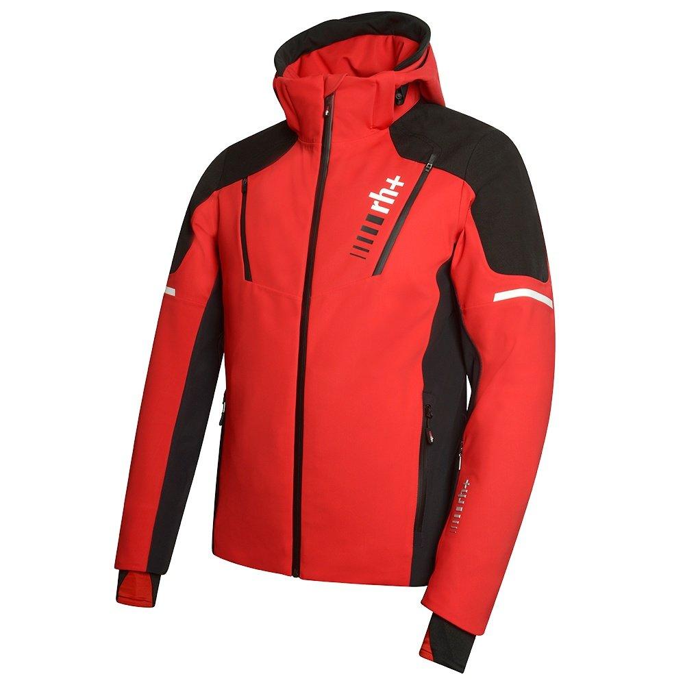 Rh+ Logo Insulated Ski Jacket (Men's) - Red/Black/White