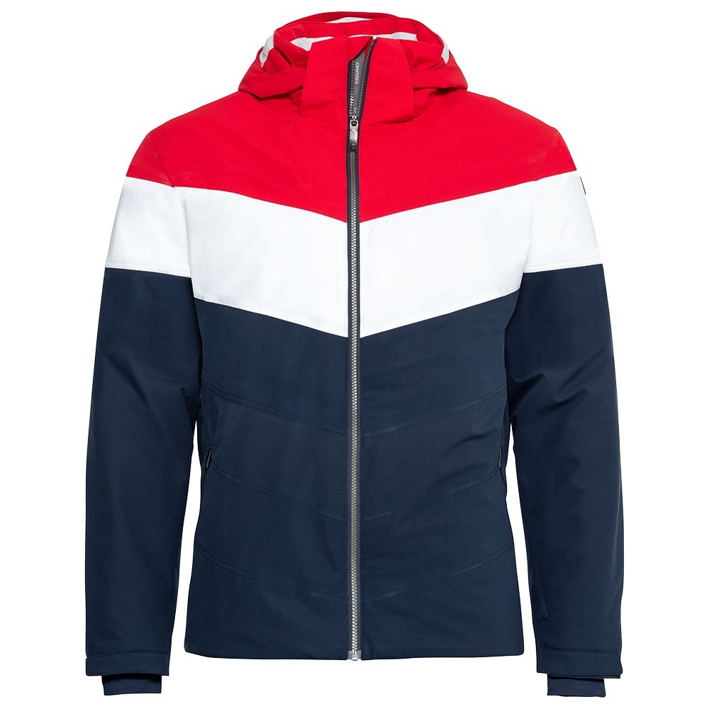 Head Powder Insulated Ski Jacket (Men's) - Dark Blue/Red