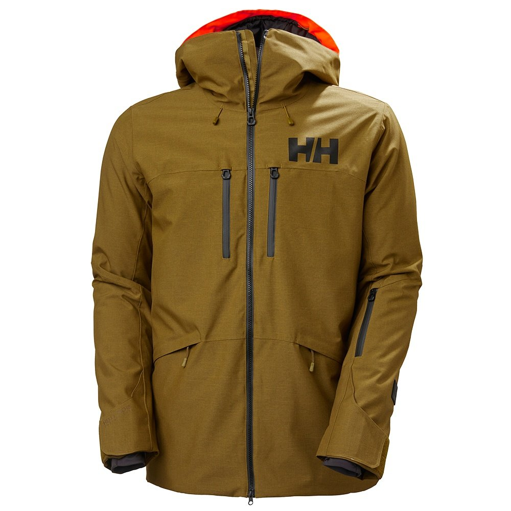 Helly Hansen Garibaldi 2.0 Insulated Ski Jacket (Men's) - Uniform Green