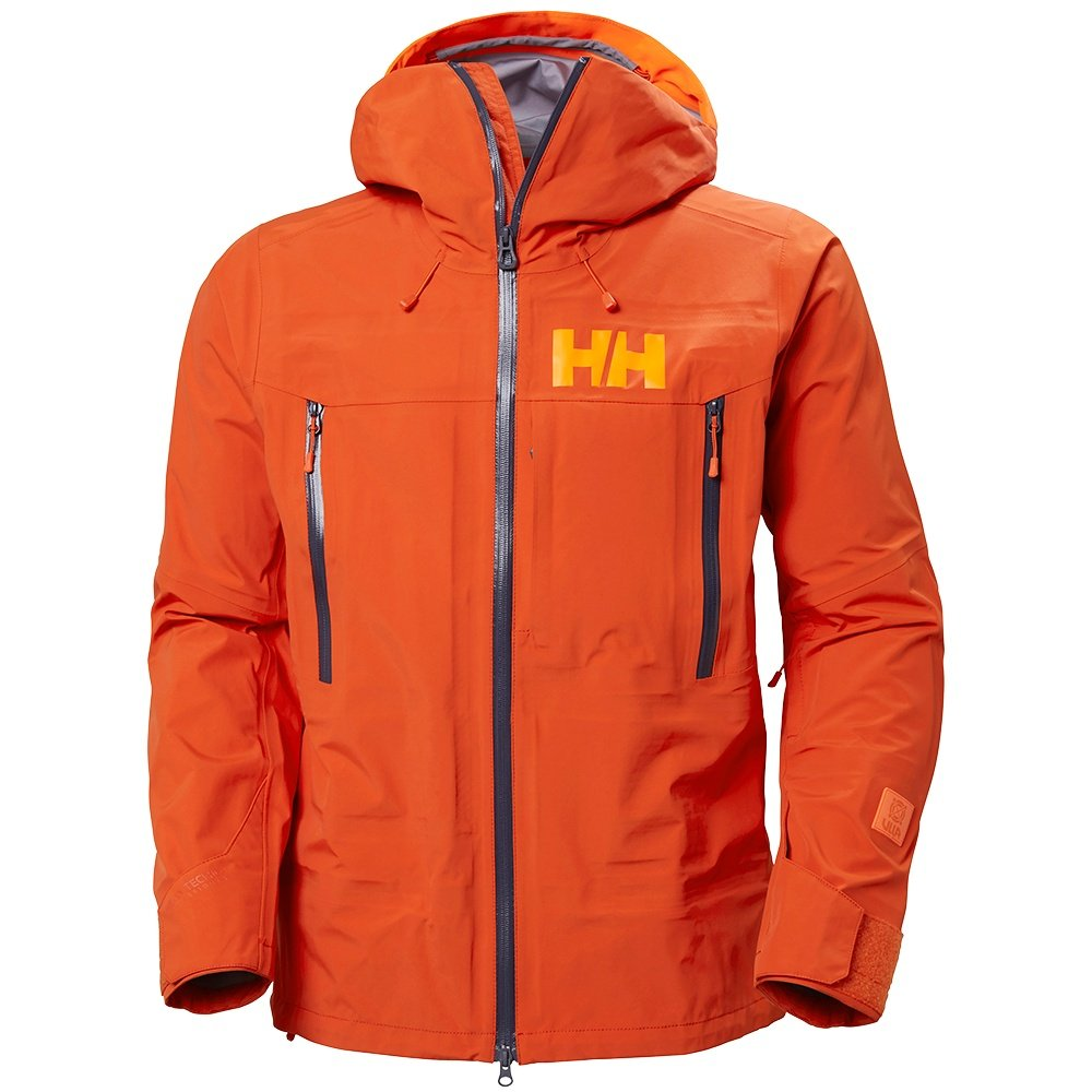 Helly Hansen Sogn 2.0 Shell Ski Jacket (Men's) - Patrol Orange