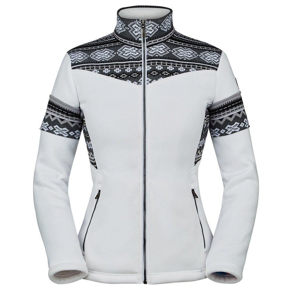 Spyder Bella Full-Zip Fleece Jacket (Women's) - White
