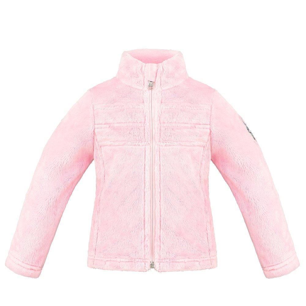 Poivre Blanc Fuzzy Wuzzy Fleece Jacket Mid-Layer (Little Girls') - Angel Pink5