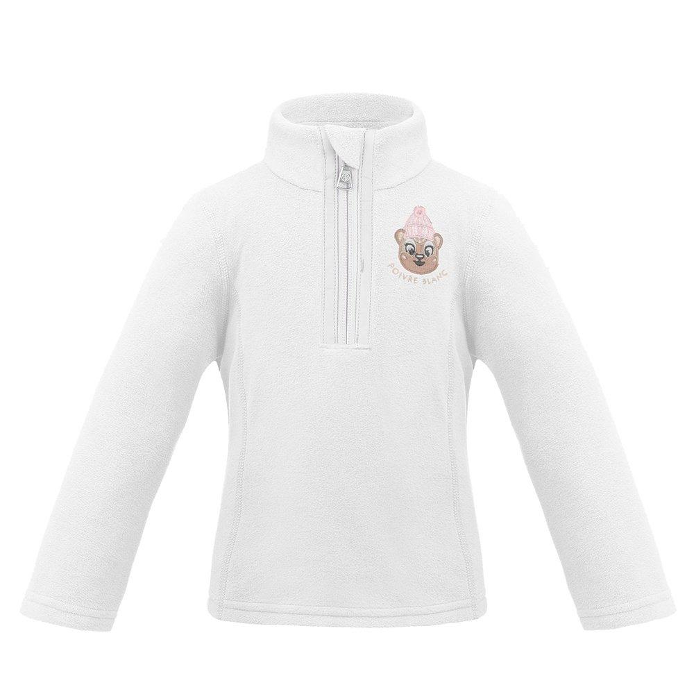 Poivre Blanc Winter Friends 1/4 -Zip Fleece Mid-Layer (Little Girls') -