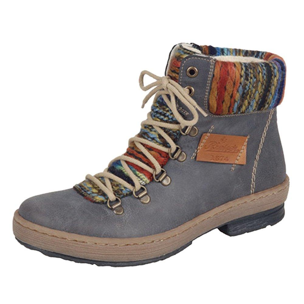 Rieker Felicitas 43 Winter Boot (Women's) - Basalt