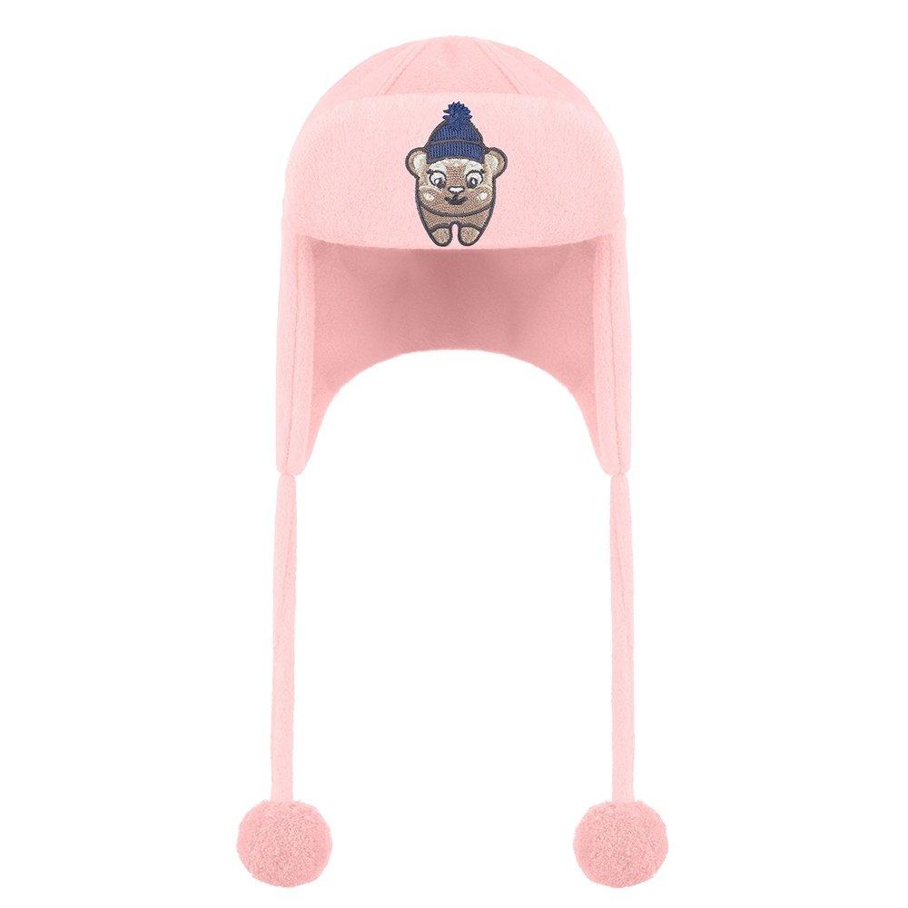 Poivre Blanc Winter Friend Hat (Little Girls') - Angel Pink5