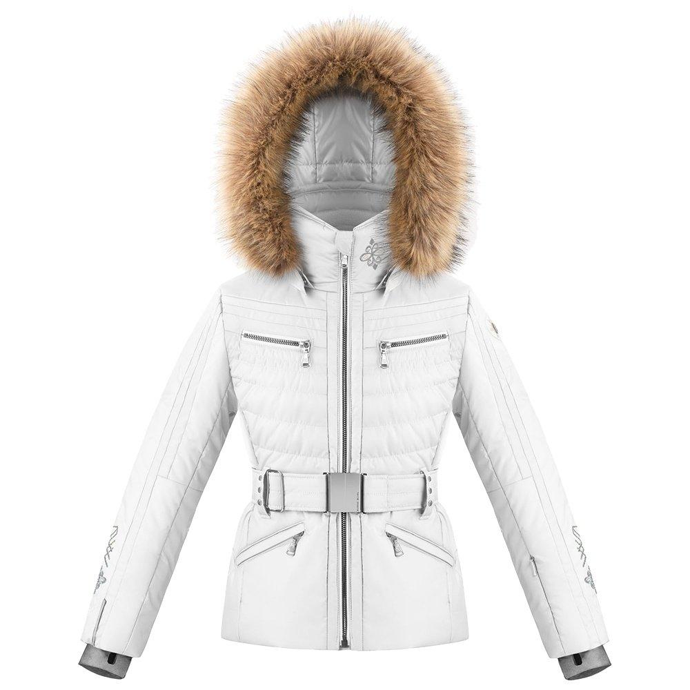 Poivre Blanc Winnie Insulated Ski Jacket with Faux Fur (Girls') - Fancy White