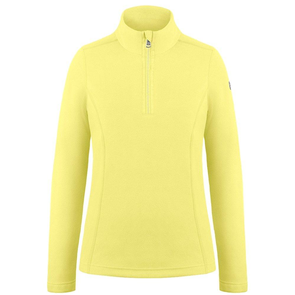 Poivre Blanc Micro Fleece 1/4-Zip Mid-Layer (Girls') - Aurora Yellow
