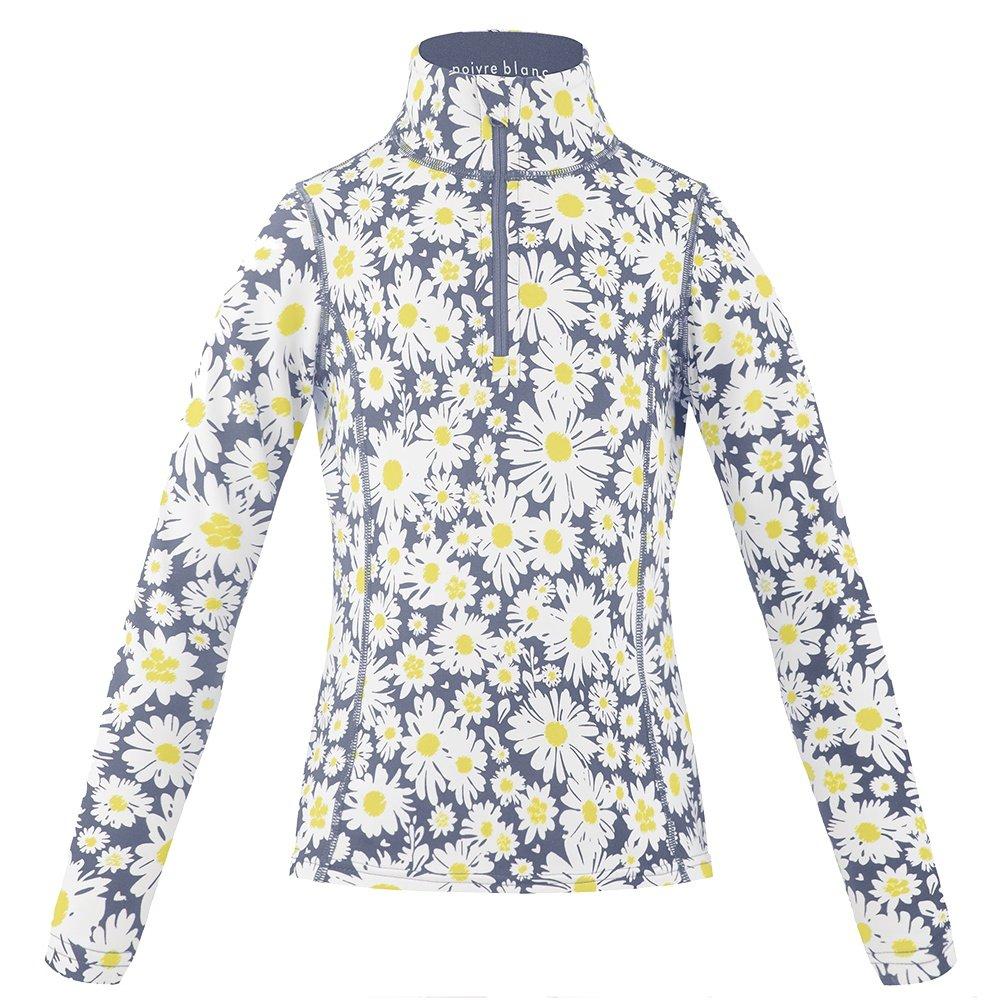 Poivre Blanc Daisy 1/4 -Zip Mid-Layer (Girls') - Daisy Yellow