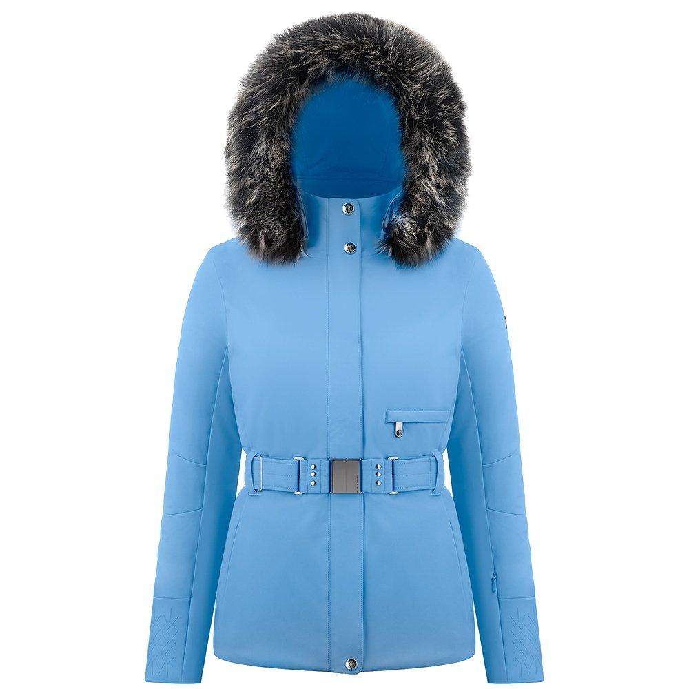 Poivre Blanc Janis Insulated Ski Jacket with Faux Fur (Women's) - Polar Blue