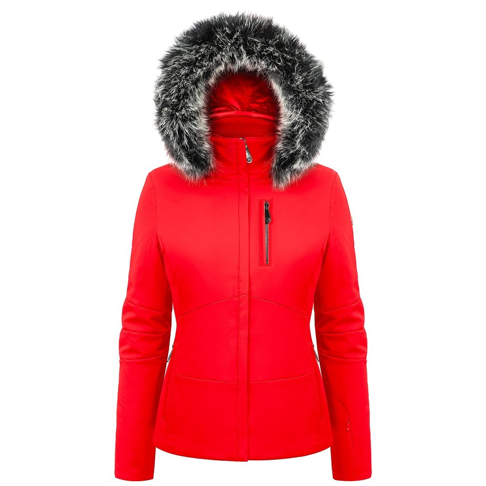 Poivre Blanc Judy Insulated Ski Jacket with Faux Fur (Women's) - Scarlett