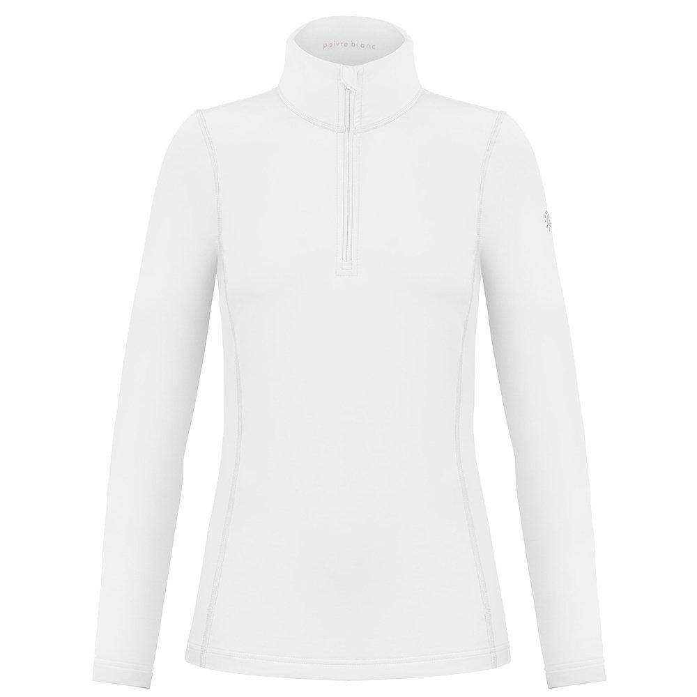 Poivre Blanc Ellen 1/4 -Zip Mid-Layer (Women's) - White