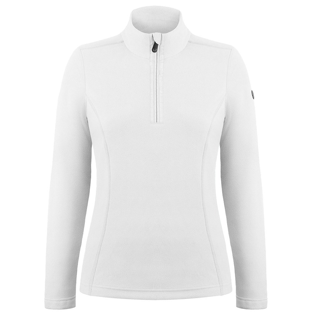 Poivre Blanc Lauren 1/4-Zip Fleece Mid-Layer (Women's) - White