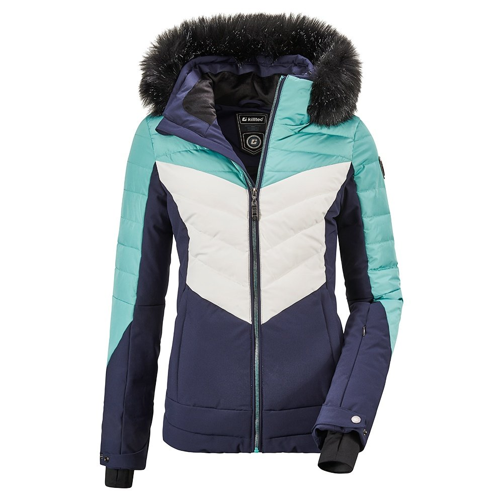 Killtec Atka Quilted A Insulated Ski Jacket (Women's) - Light Petrol