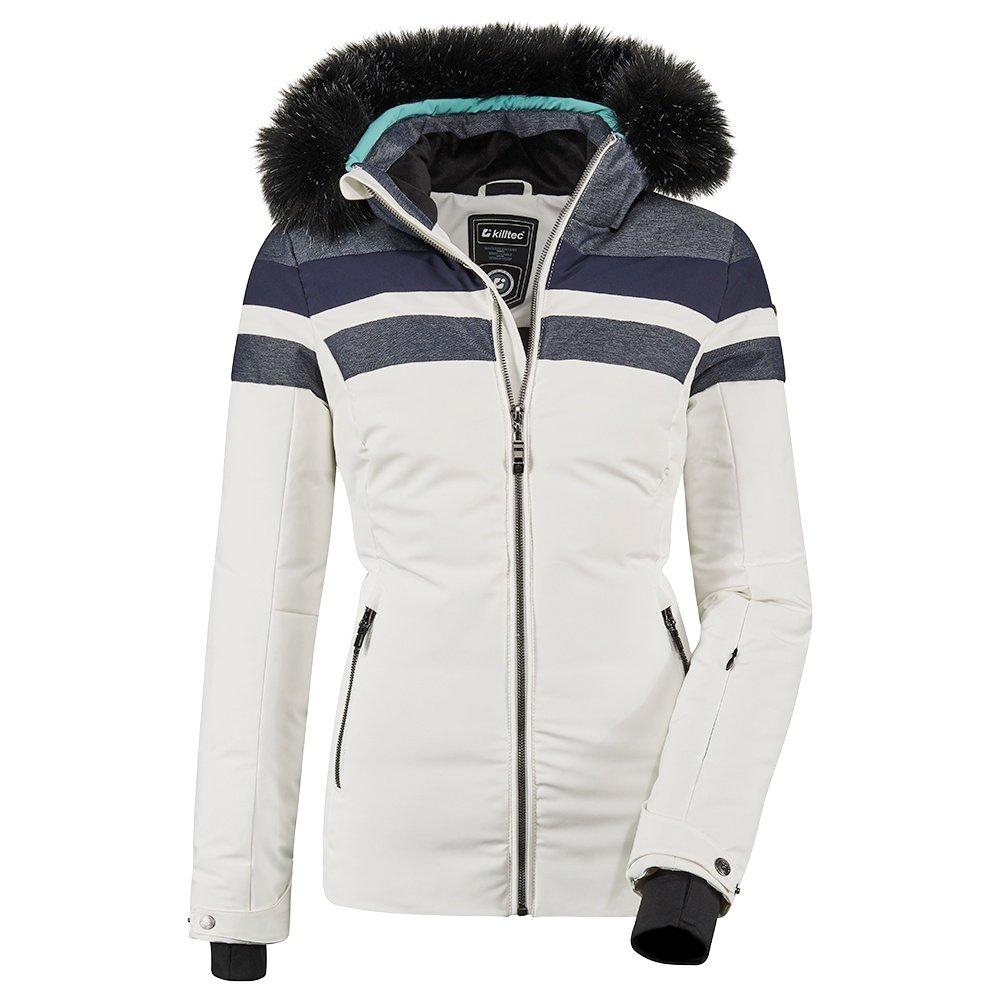 Killtec Atka Quilted D Insulated Ski Jacket (Women's) - Denim