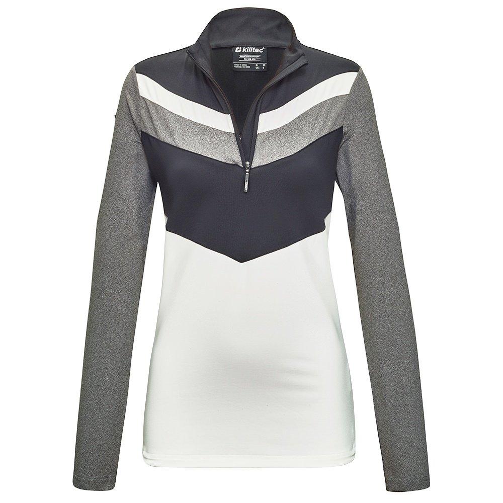 Killtec Tonsina Flex Shirt A Mid-Layer (Women's) - Black