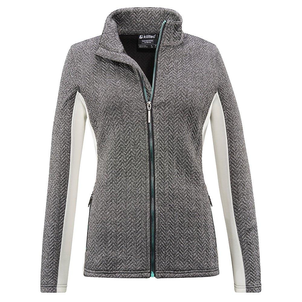 Killtec Mikkeli Flex Jacket B Fleece Mid-Layer (Women's) - White