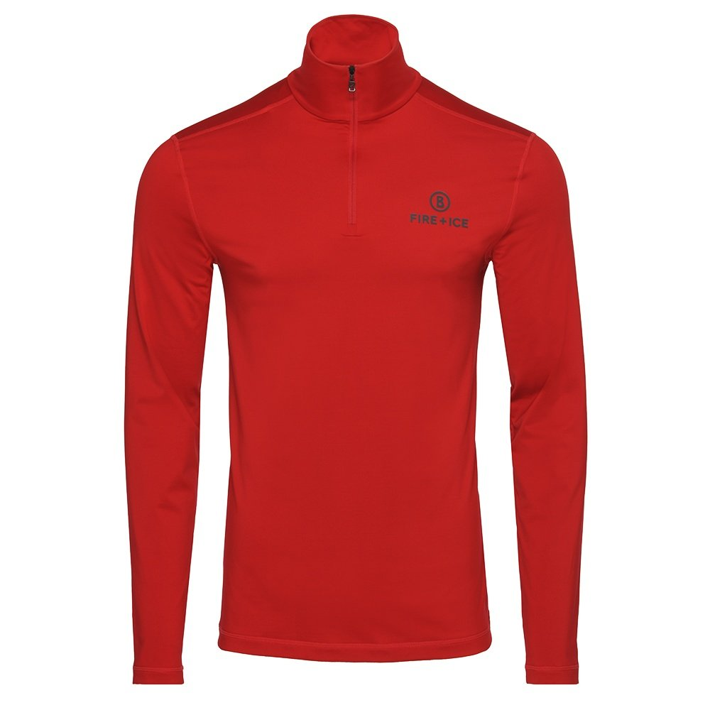 Bogner Fire + Ice Pascal 1/4-Zip Mid-Layer (Men's) - Signal Red