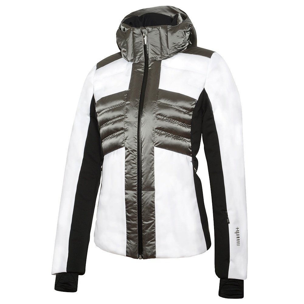 Rh+ Ice Down Ski Jacket (Women's) - White/Warm Grey/Black