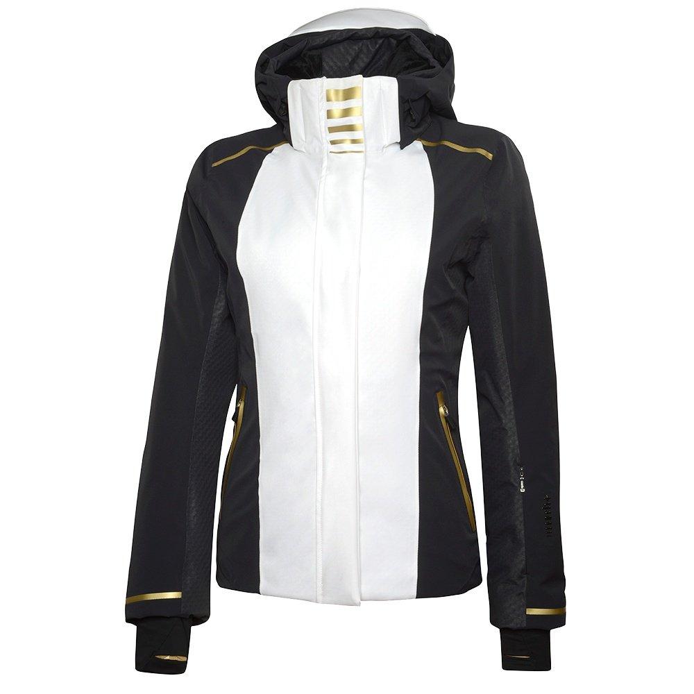Rh+ Zero Insulated Ski Jacket (Women's) - White/Black/Gold