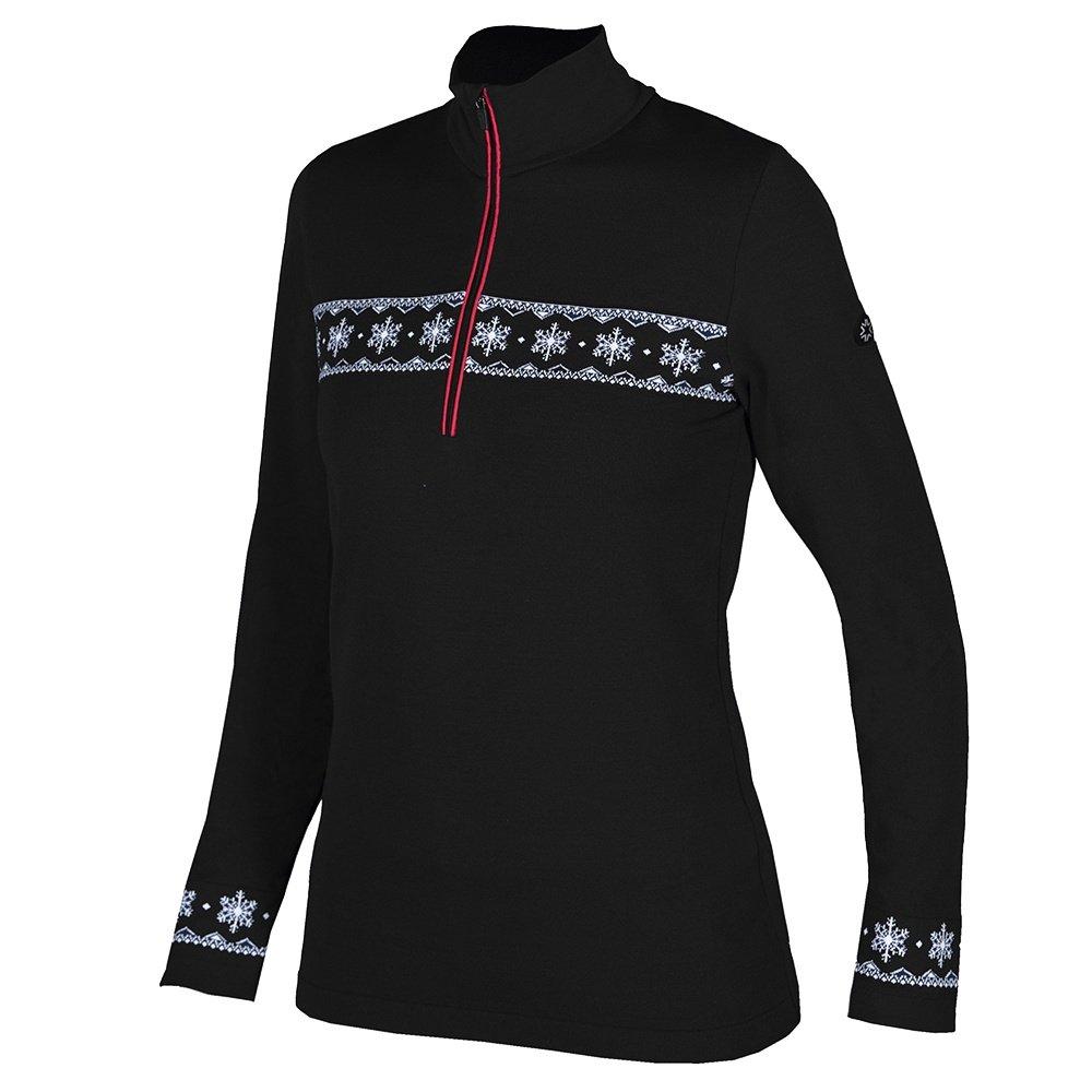 Newland Corvara 1/2-Zip Sweater (Women's) - Black/White