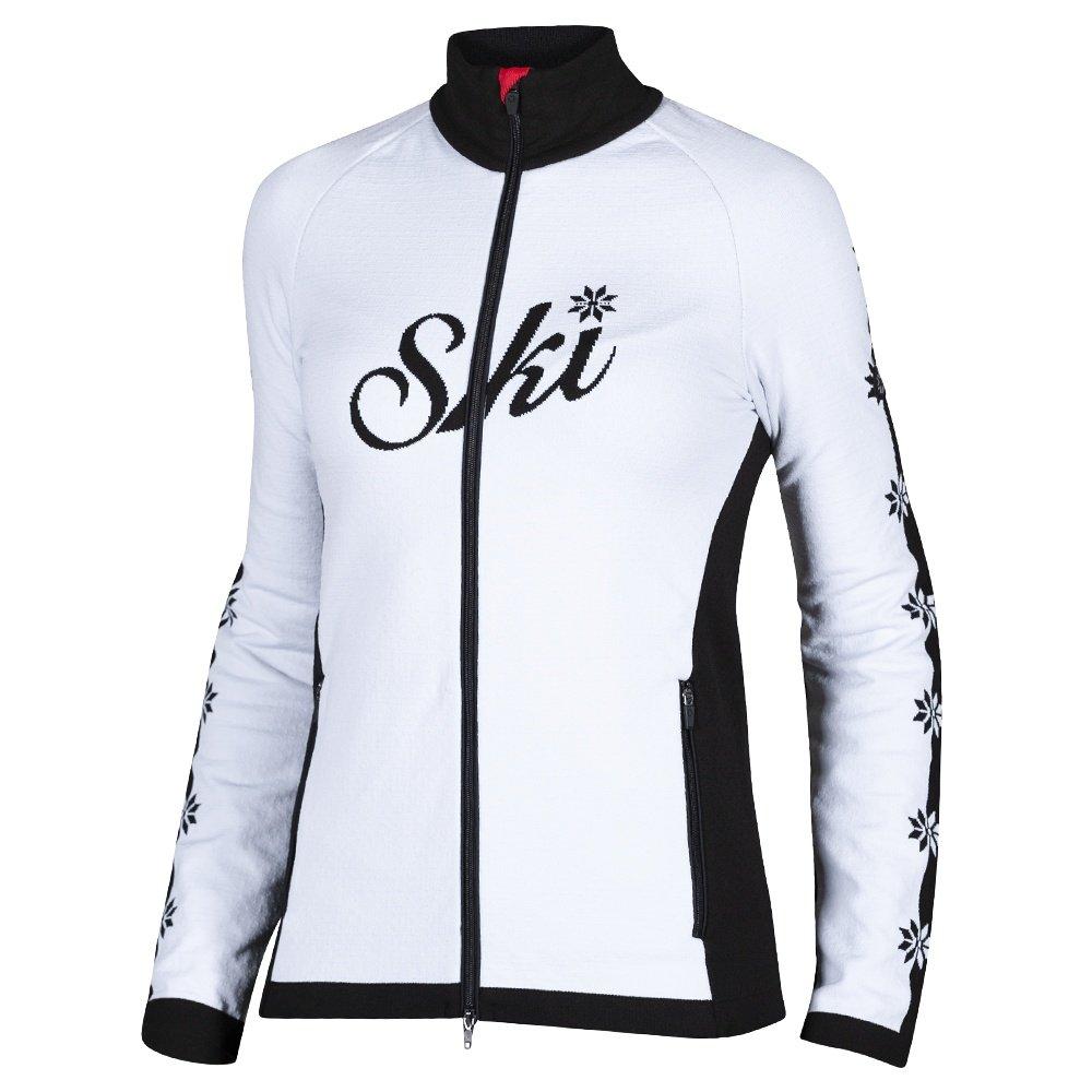 Newland Plose Full-Zip Sweater (Women's) - White/Black