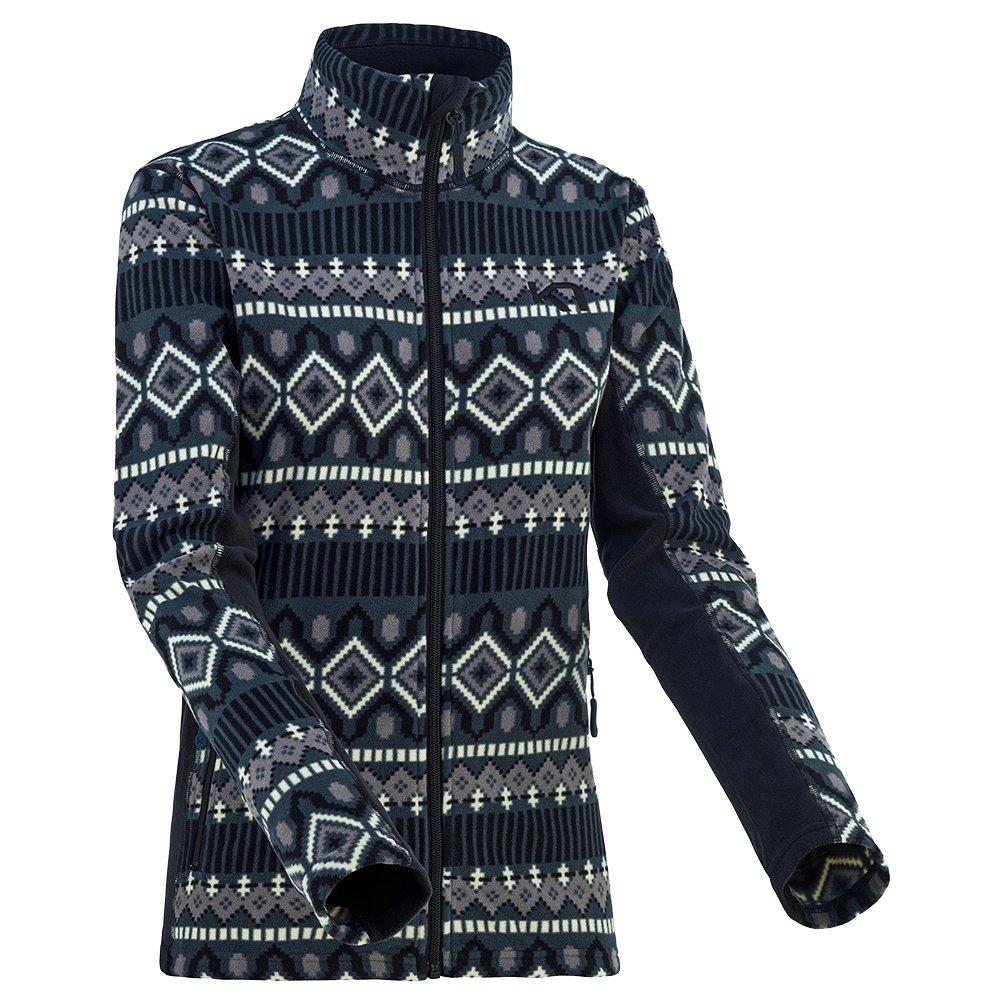 Kari Traa Rille Fleece Full-Zip Sweater (Women's) - Black