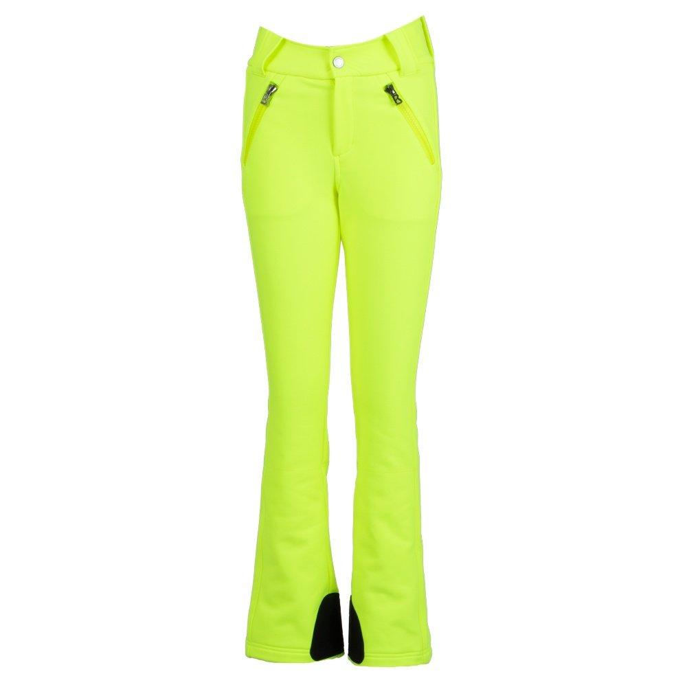 Bogner Haze Softshell Ski Pant (Women's) - Neon Lime