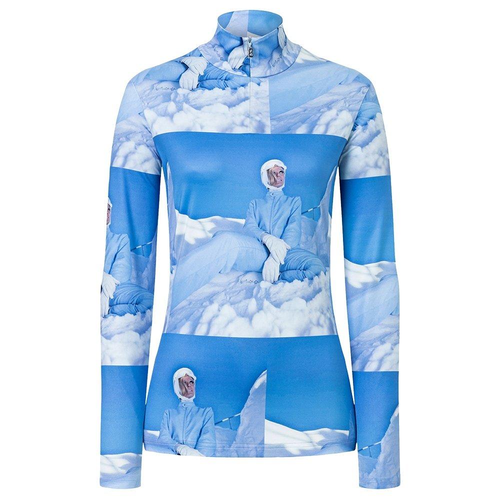 Bogner Beline1 1/4-Zip Mid-Layer (Women's) - Light Blue Print