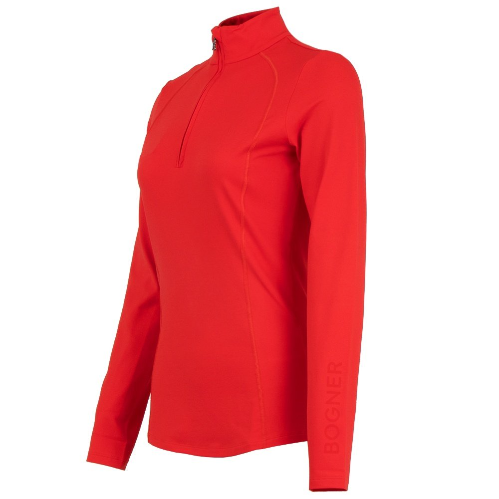 Bogner Madita 1/4-Zip Mid-Layer (Women's) - Ferrari Red