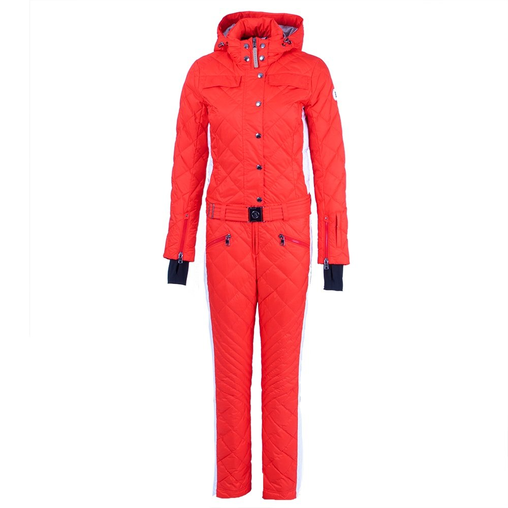 Bogner Greta-D Down Ski Suit (Women's) - Ferrari Red